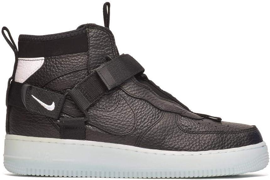 Nike Air Force 1 Utility Mid Sneakers Nero Celeste Bianco