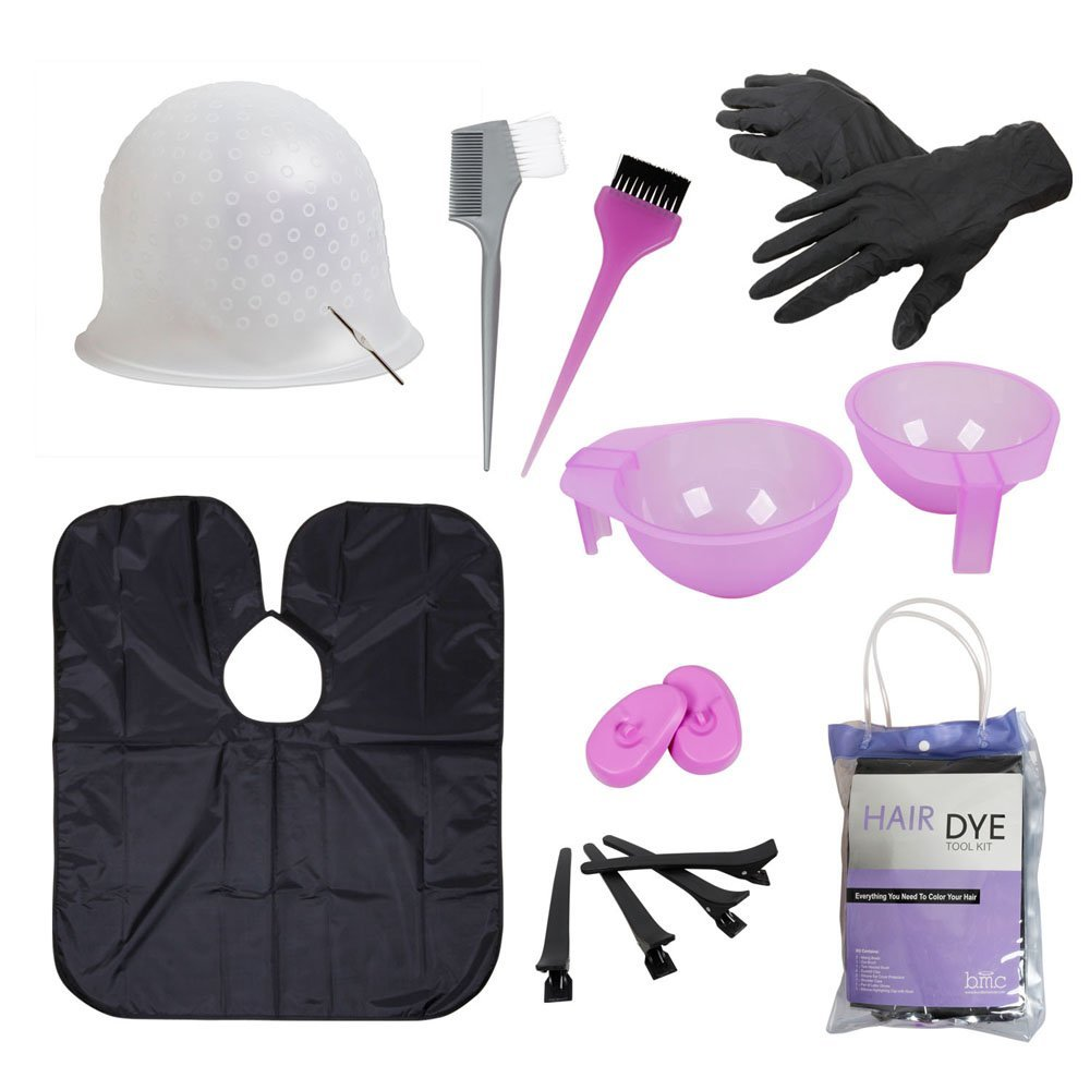b.m.c BMC Hair Dye Coloring DIY Beauty Salon Tool Kit- Highlighting ...