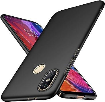 Funda Xiaomi Mi A2 TopACE Hard Cover Caso para Xiaomi Mi A2 (Negro): Amazon.es: Electrónica