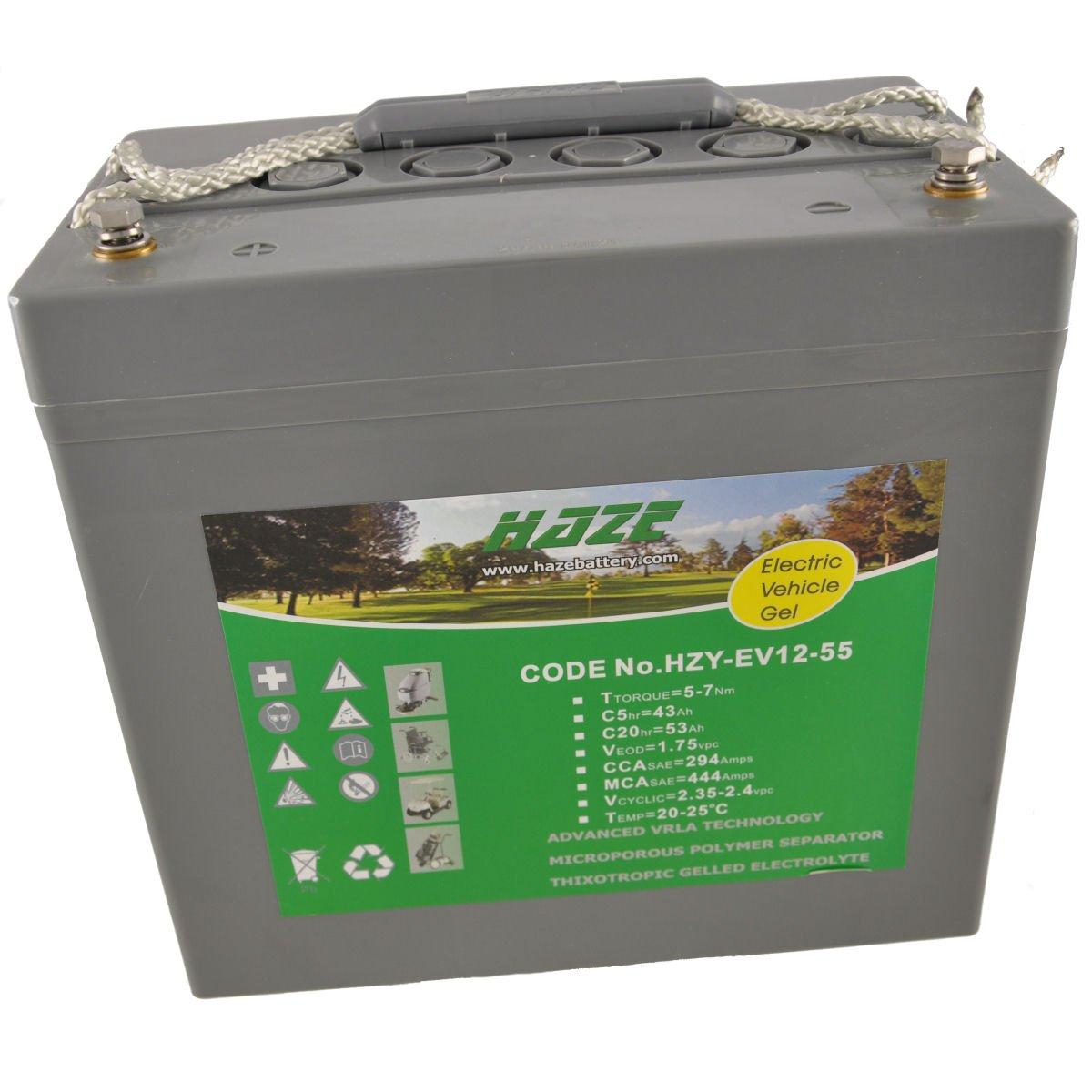 Haze HZY12-55EV - Batería para sillas de ruedas eléctricas y ...