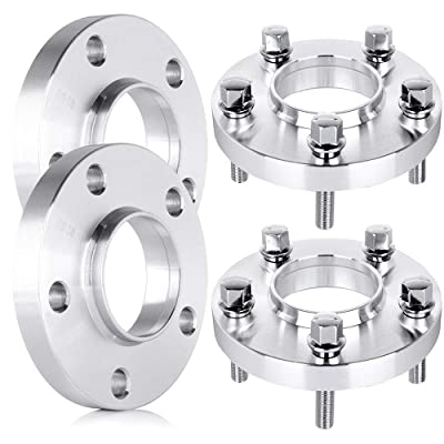 cciyu 4PCS 5 Lug Hub-Centric Spacers 20mm Wheel Spacers 5x120 to 5x120 with 12x1.5 Studs fit for E23 E32 W38 730i 730il 733i 735i 735il 740i 740il 750i 750il: Automotive