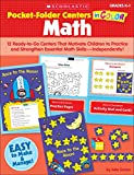img - for Pocket-Folder Centers in Color Math: 12 Ready-to-Go Centers That Motivate Children to Practice and Strengthen Essential Math Skills Independently! book / textbook / text book