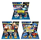 Goonies Level Pack + Sonic The Hedgehog Level Pack + Ghostbusters Peter Venkman Level Pack (Non Machine Specific)