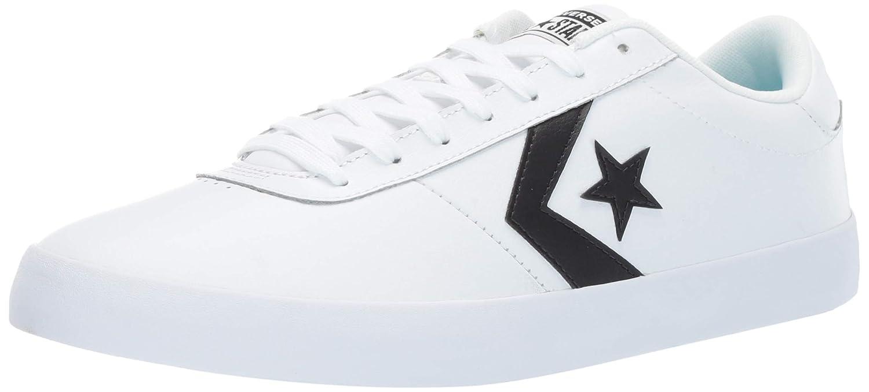 Weiß (Weiß Weiß schwarz 102) Converse Unisex-Erwachsene Lifestyle Lifestyle Lifestyle Point Star Ox Leather Fitnessschuhe 54a