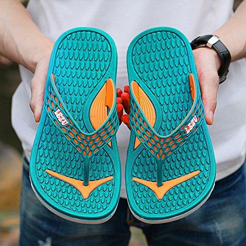 Xing Lin Sandalias De Hombre Flip-Flops Impermeable Baño Para Hombres Marea Deslizamiento Zapatilla Sandalias Sandalias Y Zapatillas De Comercio Exterior Única Original Casual De Verano green