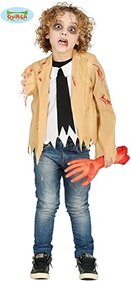 Disfraz de Zombie sin brazo para niño: Amazon.es: Juguetes y juegos