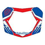 Troy Lee Designs TLD BMX Plate Red/White/Blue