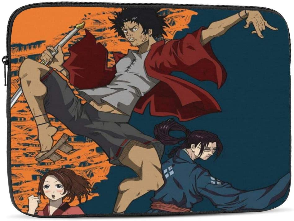 Samurai Champloo 17 inch Laptop Sleeve Case Protective Zipper Cover Carrying Computer Bag
