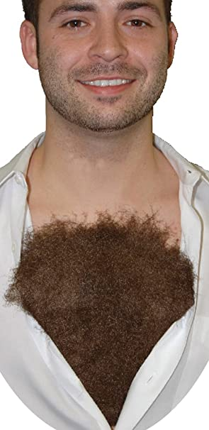 And lightly hairy chest