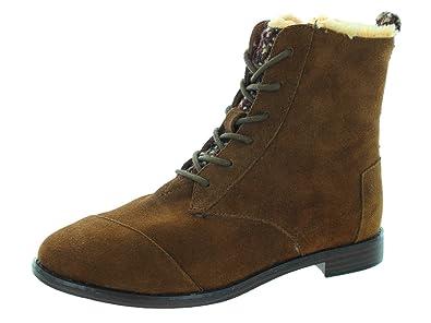 05b6973b711 TOMS Women s Alpa Boot Chocolate Brown Boot 5.5 Women US