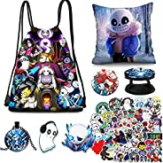Gift Drawstring Bag Button Necklace Phone Holder 50PCS Stickers Pillow Case Gift Set for Fans