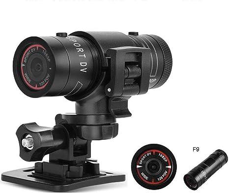 AUTOMATE Cámara Deportiva HD 1080P 30FPS 8MP 170A+Lente Gran ...