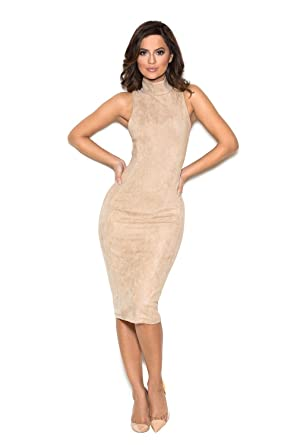 499b1786d27f Image Unavailable. Image not available for. Color  House of CB Ecru Sergia Bodycon  Dress