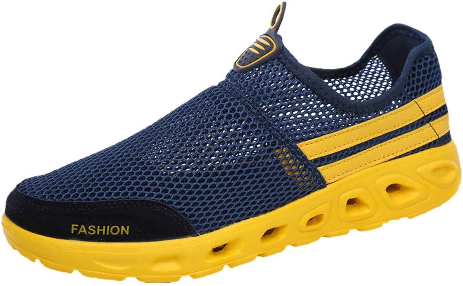 TWIFER Zapatillas Deportivas para Interior para Hombre Verano 2019 Transpirables Running Antideslizante Entrenamiento Casual Moda Unisex Adulto: Amazon.es: Zapatos y complementos