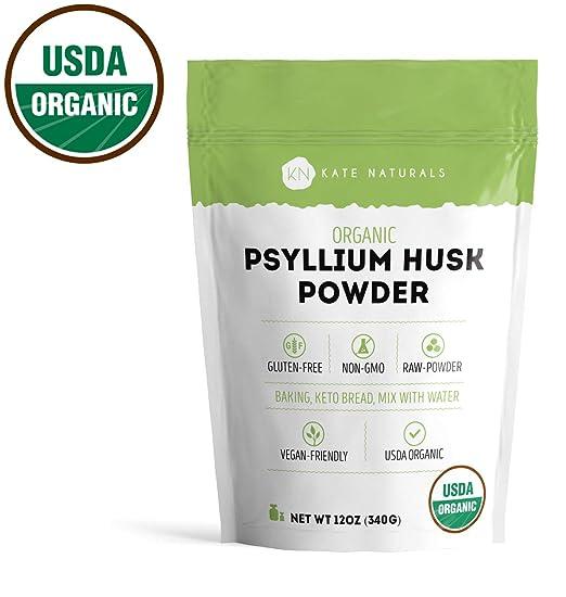 Amazoncom Psyllium Husk Powder Organic By Kate Naturals Perfect