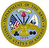 1 Set Perfect Popular United States Department of The Army Stickers Sign Vinyl Bumper Military Size 5