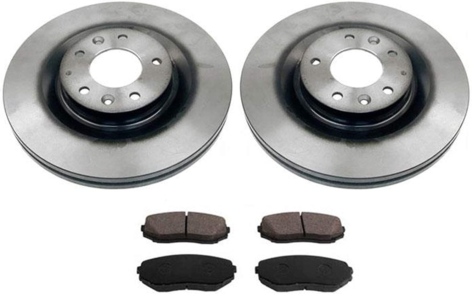 2011 2012 2013 2014 Mazda 2 Max Performance Ceramic Brake Pads Front