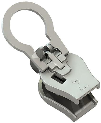 StormSure Cremallera reparación Kit-8 mm Metal Dientes, Unisex, metálico, N/