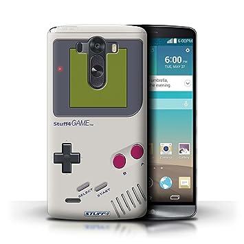 Carcasa/Funda STUFF4 dura para el LG G3/D850/D855 / serie: Consola de juegos - Nintendo game boy