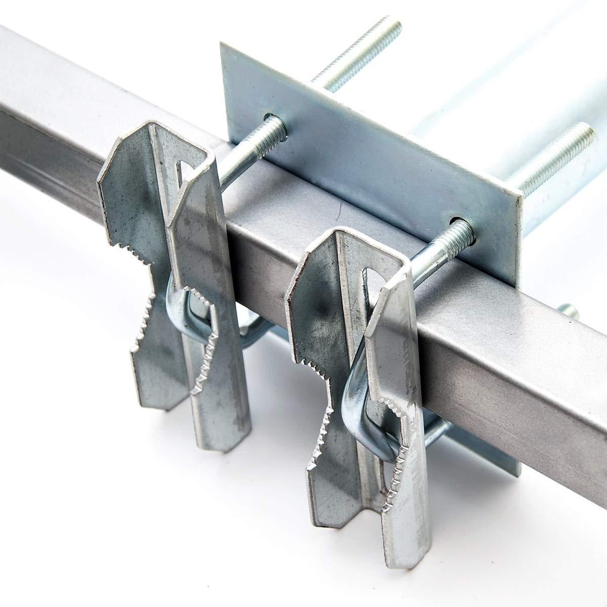 extra plat/ GAH Alberts Barre Profil/é C 05 /38/x 2/mm/ /Autocollant / /Aluminium anodis/é: Naturel Argent