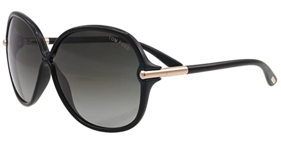 2a180c48b7 Tom Ford 0224 01f Black Islay Butterfly Sunglasses  Amazon.co.uk  Clothing