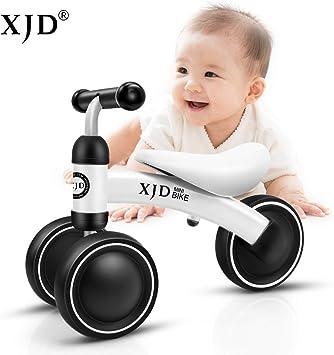 XJD Bicicleta sin Pedales para Bebé de 1 año Bicicleta Equilibrio Bebé para Aprender a Caminar Regalo de Primera Bicicleta para niños Ninas de 10-24 Meses (Blanco #2): Amazon.es: Deportes y aire libre