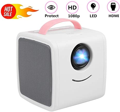 ASHATA Mini Proyector,Educación Temprana Proyector LED Portátil ...