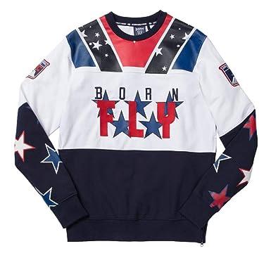 Born Fly Men S Usa Ice Hockey Crewneck Sweatshirt At Amazon Men S