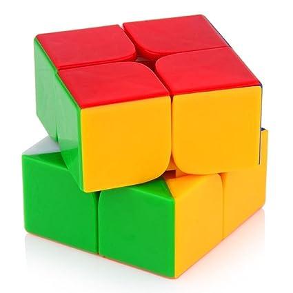 B&B E-Mart High Speed Speedy Rubik Magic Puzzle Cube, Multi Color