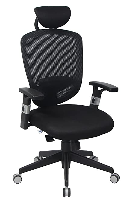VIVA OFFICE High Back Mesh Executive Chair,with Adjustable  Armrests,Headrest And Lumbar Pad