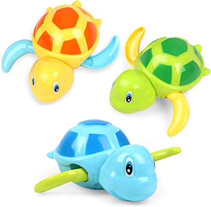 Swimming Pool Floating Interactive Sprinkler Geyiie Baby Bath Toys Birthday Gifts for Kids Boys Girls Soft Cute Aquatic Animals Water Spray Toy 12PCS Toddler Bathtub Toys with Organizer