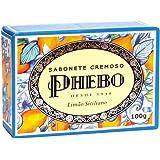 Linha Mediterraneo Phebo - Sabonete em Barra Cremoso Limao Siciliano 100 Gr - (Phebo Mediterranian Collection - Creamy Bar So