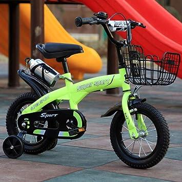 Bicicleta Niños con Ruedines Bicicleta de la muchacha del estilo ...