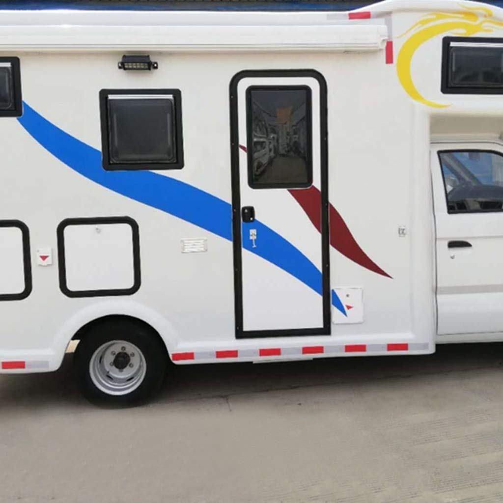 Homyl 2set 8inch T-Style Door Catch Latch Holder RV Camper Trailer Cargo Hatch Plastic
