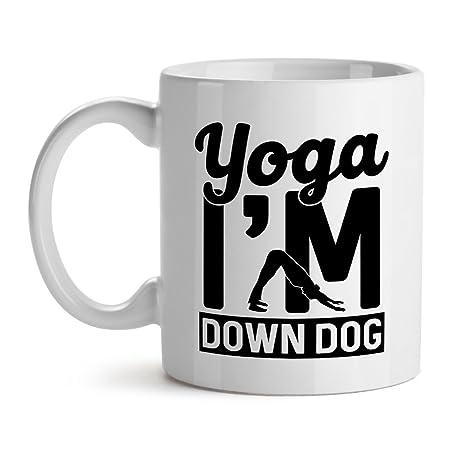 Amazon.com: Yoga I m Down perro paz Epic mejor Fitness Meme ...