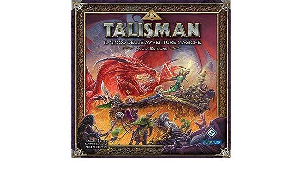 Giochi Uniti Talisman - Juego de Mesa (versión en Italiano ...