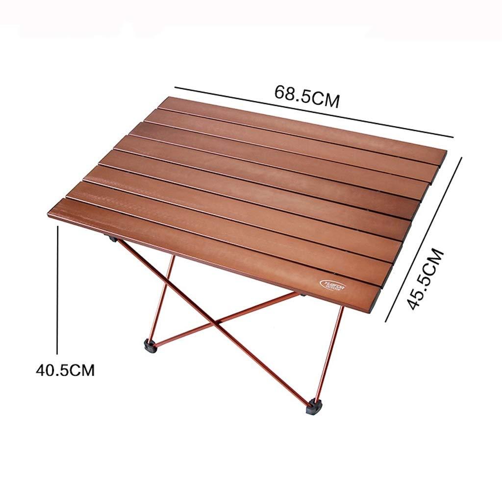 5640.540.5cm BENCHH Table de Pique-Nique Se Pliante portative extérieure, Mini Table de Maison de Plage de Camping antidérapante