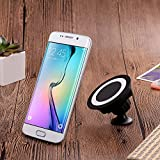 Wireless Car Charger, Wireless Charging for Samsung S8 S8+ S8 Plus S7 S7 Edge S6 Edge Plus Note 5 Note 7 Note 8x3001;Apple iPhone X/8/8 Plus and All QI-Enabled Devices (No USB Car Charger) (Black)