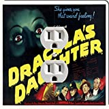 Rikki Knight 3708 Outlet Vintage Movie Posters Art Dracula's Daughter 5 Design Outlet Plate