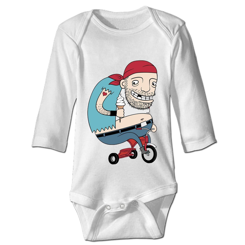 BABBY Toddler Baby Bodysuit Long-Sleeve Onesie Dedicated Soldier Print Rompers Cotton Jumpsuit Summer Pajamas