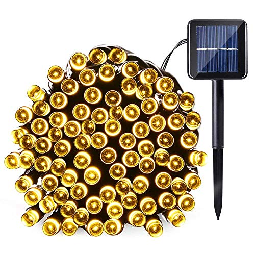 Outdoor Solar String Lights Warm White in US - 7