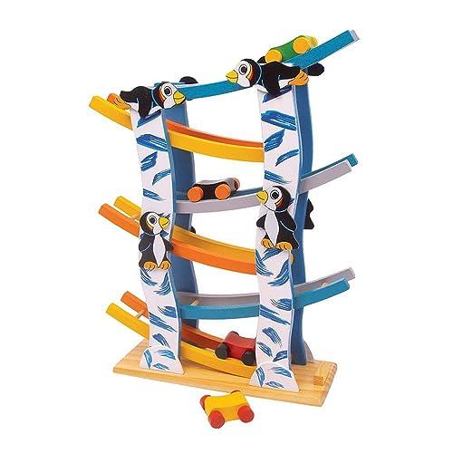 small foot design - 6133 - Circuit De Billes - Pingouins