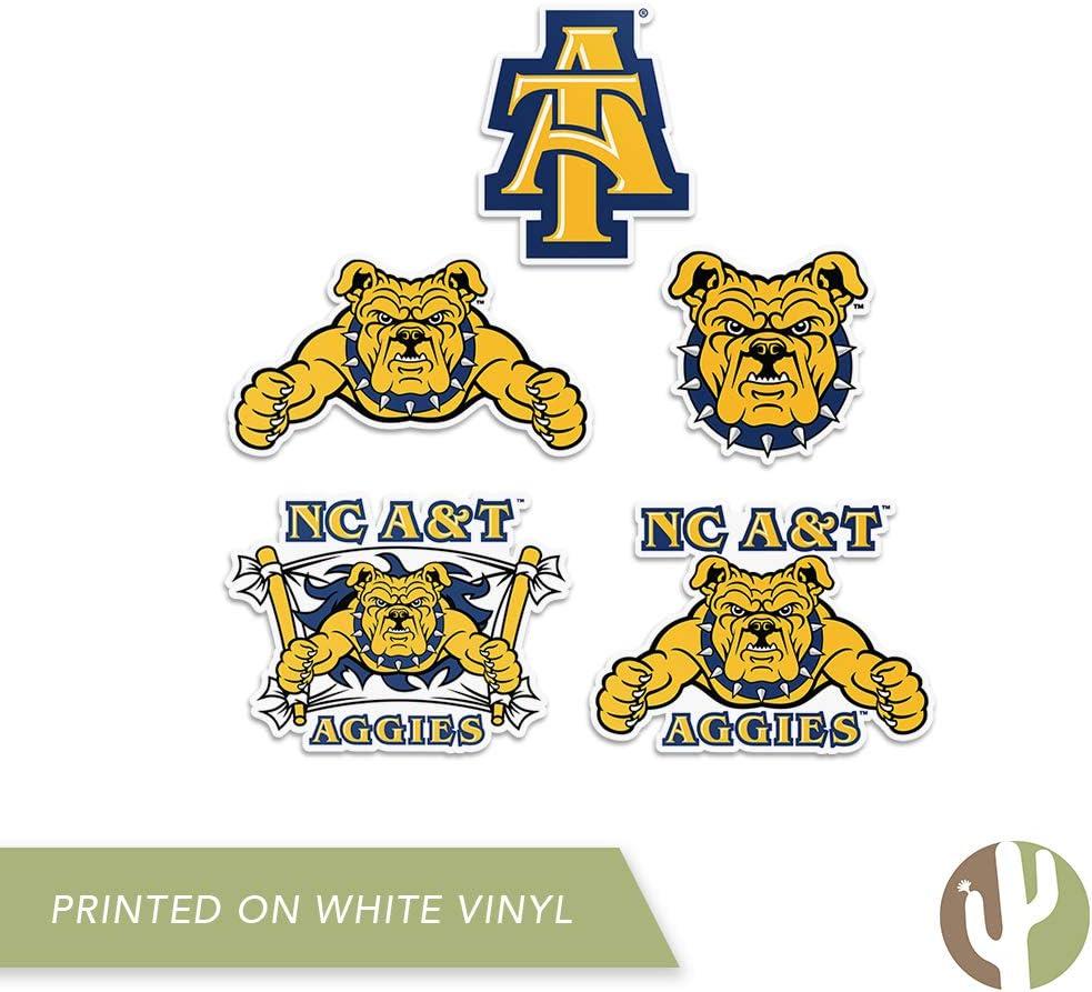 North Carolina A /& T State University HBCU Aggies NCAA Sticker Vinyl Decal Laptop Water Bottle Car Scrapbook Type 2 Sheet