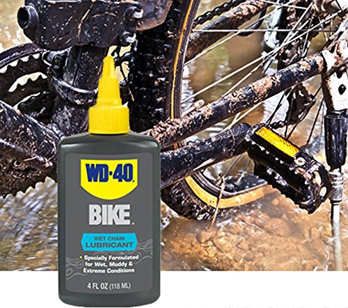 WD 40 BIKE  Wet Chain Lubricant, 4 OZ