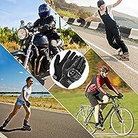 M//L//XL Senderismo y Otros Deportes al Aire Libre Guantes de Pantalla T/áctil Full Touch para Carreras de Motos MTB COFIT Guantes de Motos Escalada