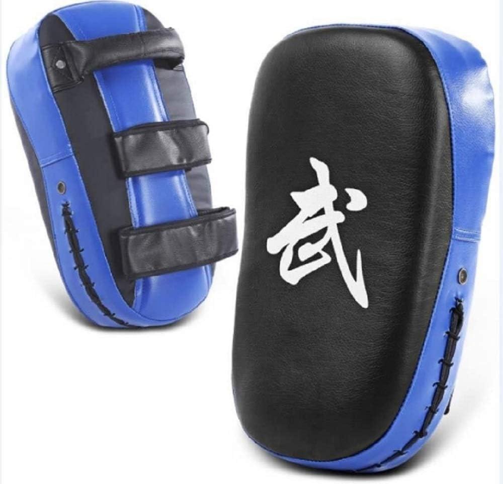 Taekwondo Kick Pads Boxing Karate Pad PU Leather Muay Thai MMA Martial Art Kickboxing Punch Mitts Punching Bag Kicking Shield Training 1PC DH