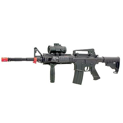 BBTac M4 M16 Replica Airsoft Gun M83 A2 Electric Rifle Full Automatic  Tactical AEG