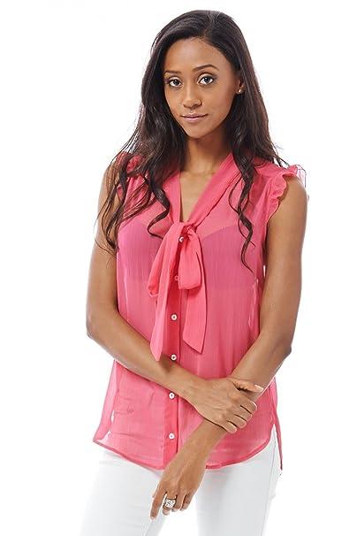 buy online d9b4b 8e6e6 Style Deal - Camicia - Maniche corte - donna Rosa rosa ...