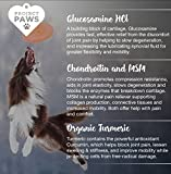 Project-Paws-Hip-and-Joint-Supplement-for-Dogs-Dog-Glucosamine-Chews-with-MSM-Chondroitin-and-Organic-Turmeric-120-CT