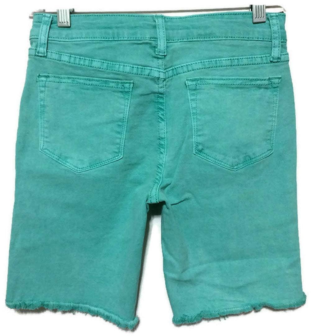 VIGOSS Girls Stretch Denim Shorts with Adjustable Waistband